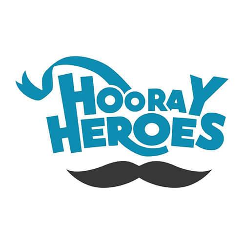 hooray heroes logo